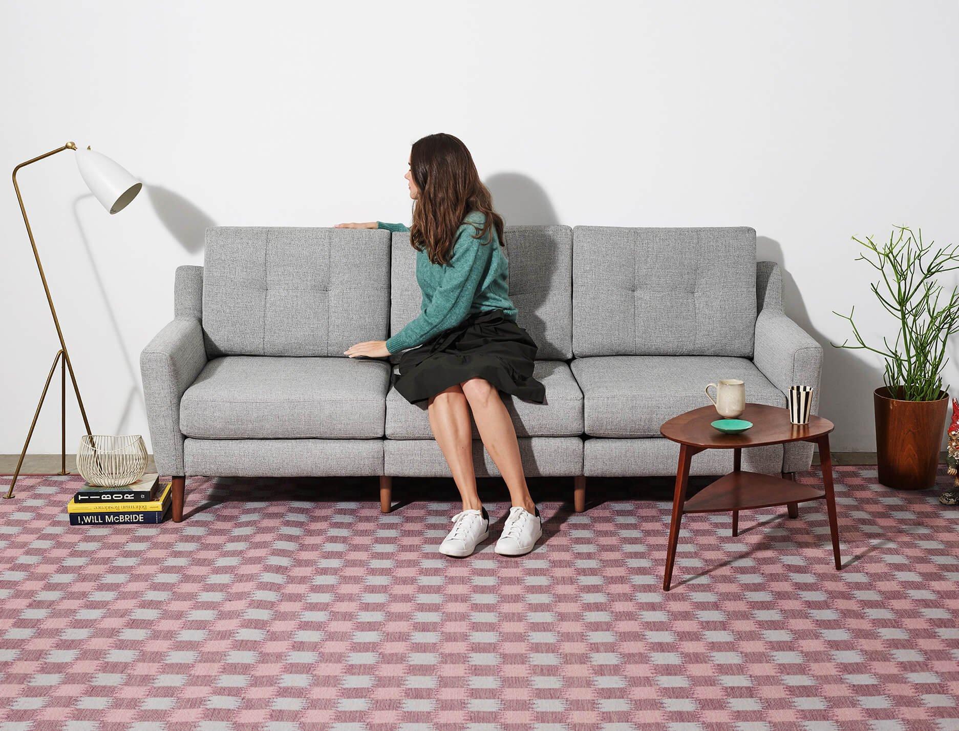 Burrow Custom Furniture Sectional Sofas - Manhattan-leather-studio-sofathe-perfect-leather-sofa-for-your-room